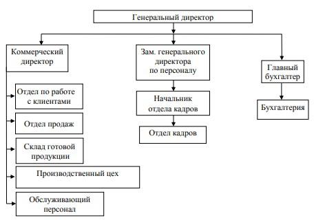 Структура управления «Амиго-Блик»