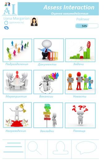 Профиль пользователя Assess Interaction