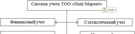 Система учета деятельности ТОО «Наш Маркет»