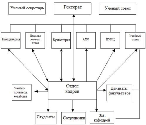 Структура РГАЗУ