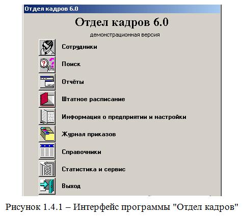 интерфейс отдел кадров_диплом