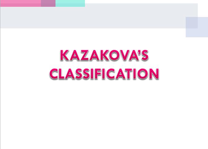 классификация казакова_англ_презентация