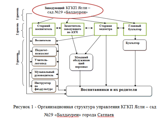 Орг структура ДОУ