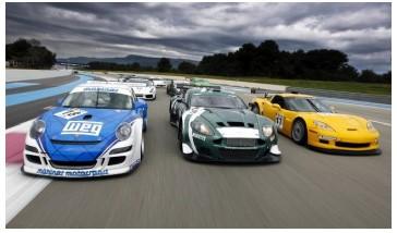 Рисунок 1.4 – Гоночные автомобили GT категории FIA