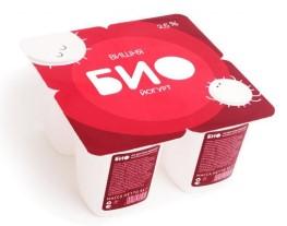 Упаковка десертного йогурта «Био»