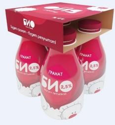 Картонная упаковка для йогуртов