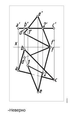 прямой параллельной фронтальной