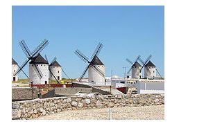 Ветряные мельницы в Ла Манче, Испания