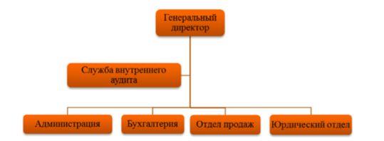 Организационная структура ООО «Премьера-Центр»