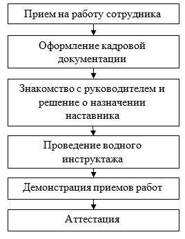 Существующий процесс адаптации персонала в ТОО «Кредо-Визуаль»