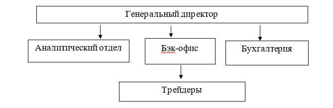 Организационная структура филиала ТОО «Arena S» в городе Темиртау